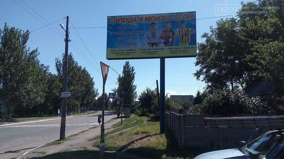 """16 лучших спортсменов Покровска """"засветились"""" на билбордах города , фото-1"""