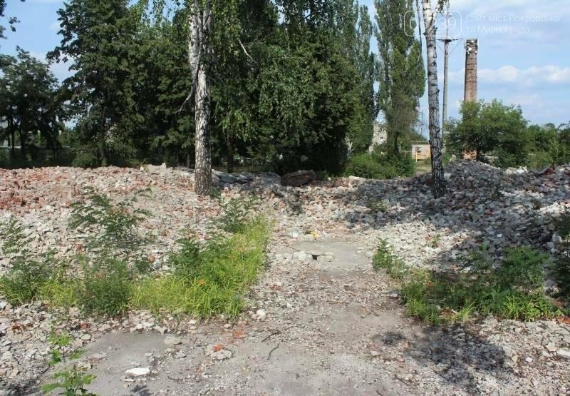 В Мирнограде коммунальщики игнорируют свалку строительного мусора после сноса детсада, фото-6