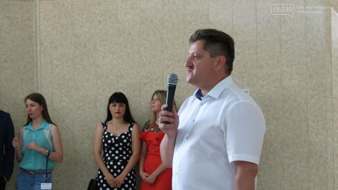 В ДонНТУ, расположенном в Покровске, прошла церемония вручения дипломов магистрам и бакалаврам ВУЗа, фото-3