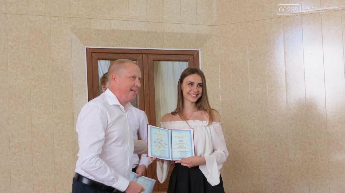 В ДонНТУ, расположенном в Покровске, прошла церемония вручения дипломов магистрам и бакалаврам ВУЗа, фото-15