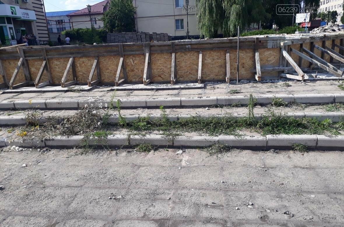 Ремонт фонтана в Мирнограде: успеют ли закончить в положенные сроки?, фото-3