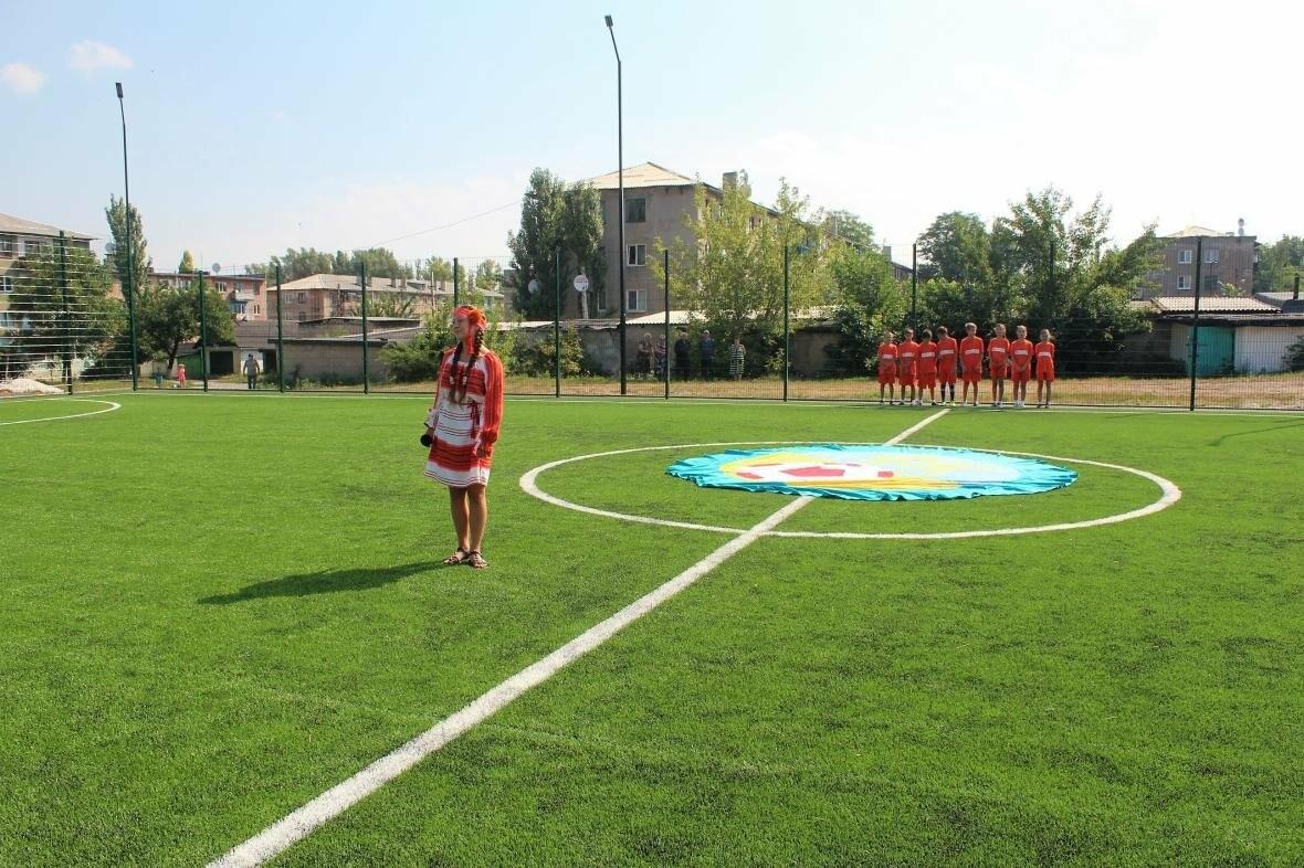 В Мирнограде торжественно открыли новое футбольное поле , фото-14