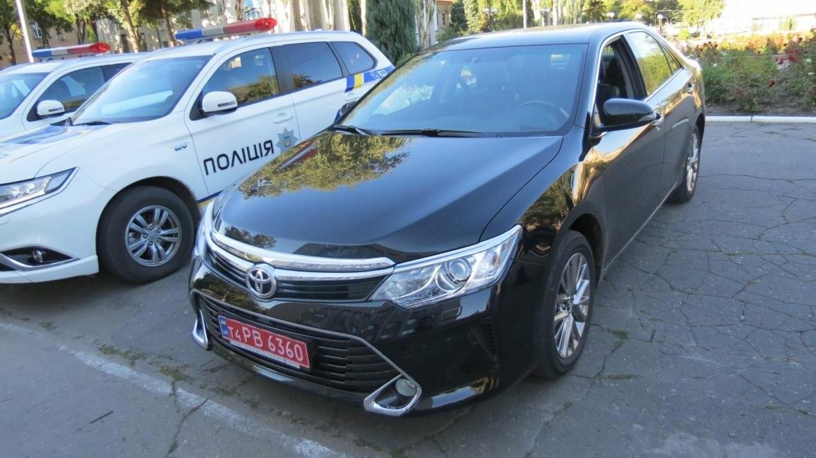 Покровск сделал дорогостоящий подарок полиции Донетчины в виде новенькой «TOYOTA Camry», фото-5