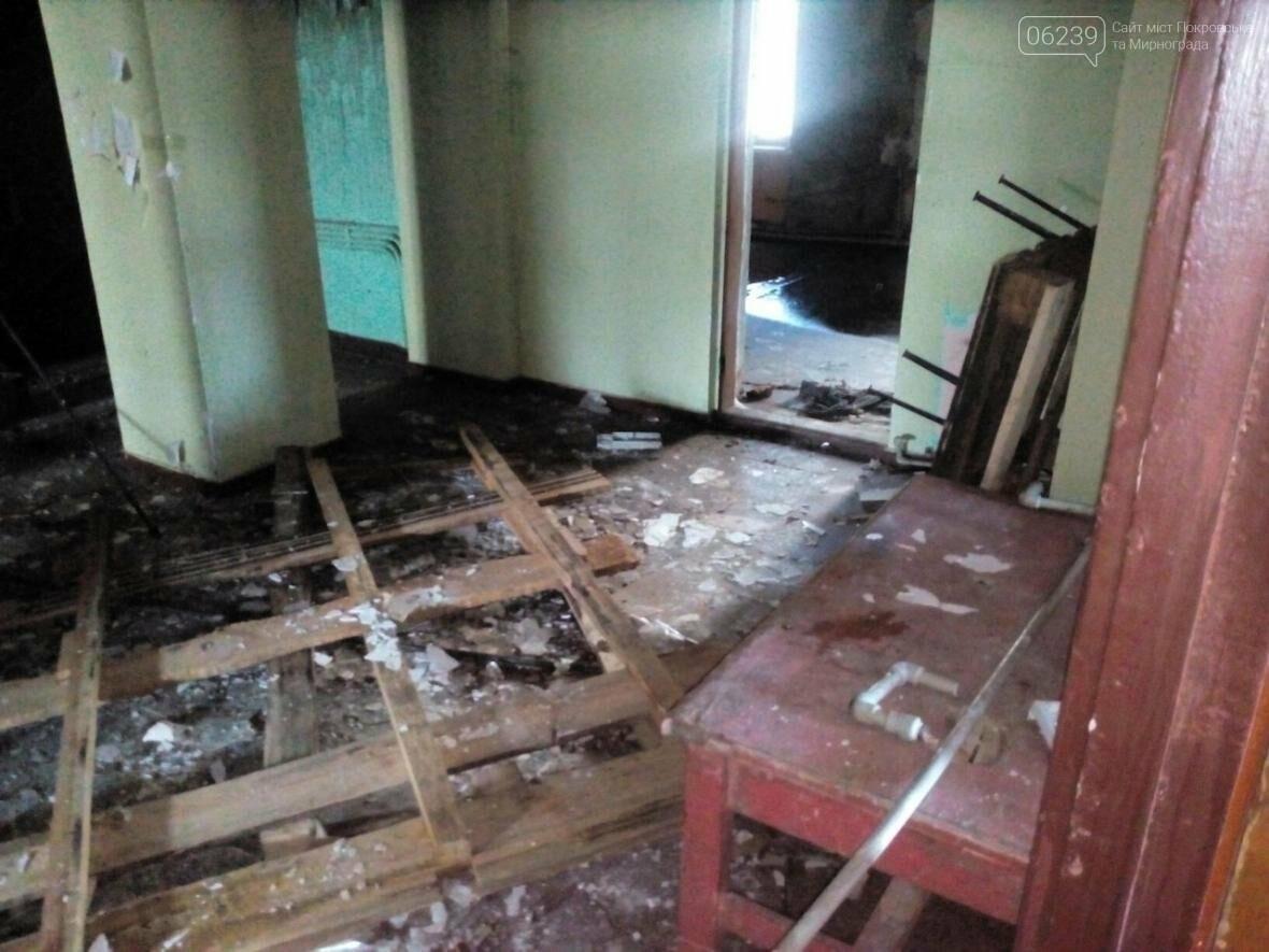 """В Покровске сгорел кинотеатр """"Мир"""": пожар тушили 4 часа, фото-7"""