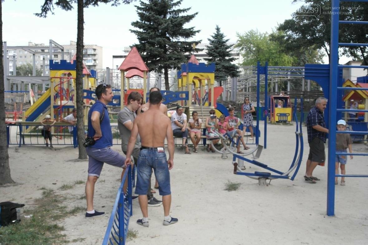 В Покровске прошли соревнования по Street Workout , фото-1