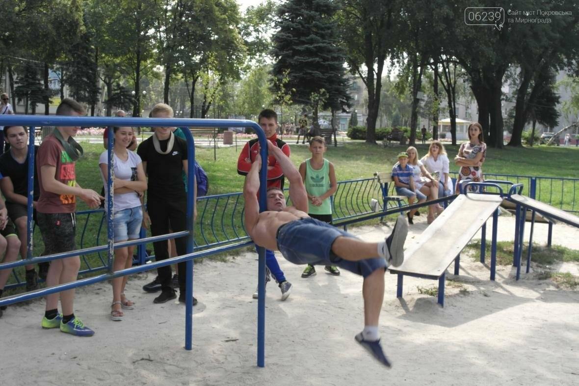 В Покровске прошли соревнования по Street Workout , фото-7