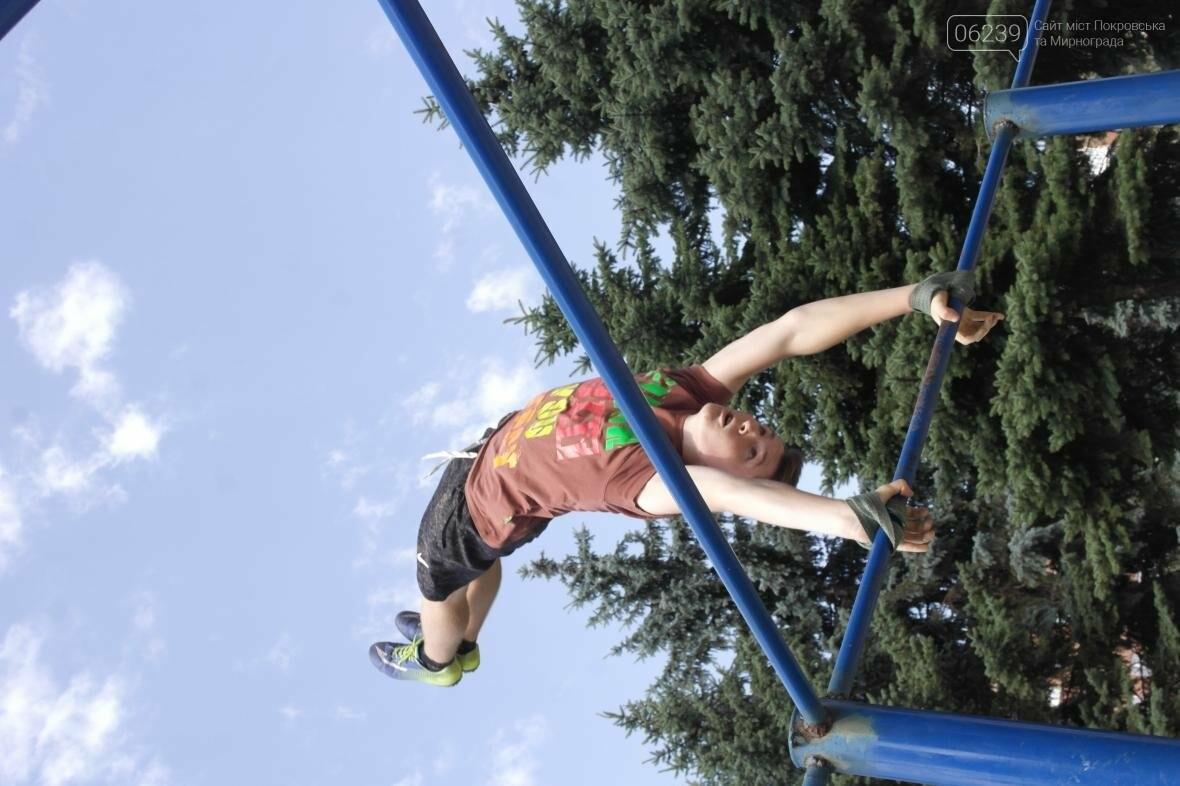 В Покровске прошли соревнования по Street Workout , фото-8