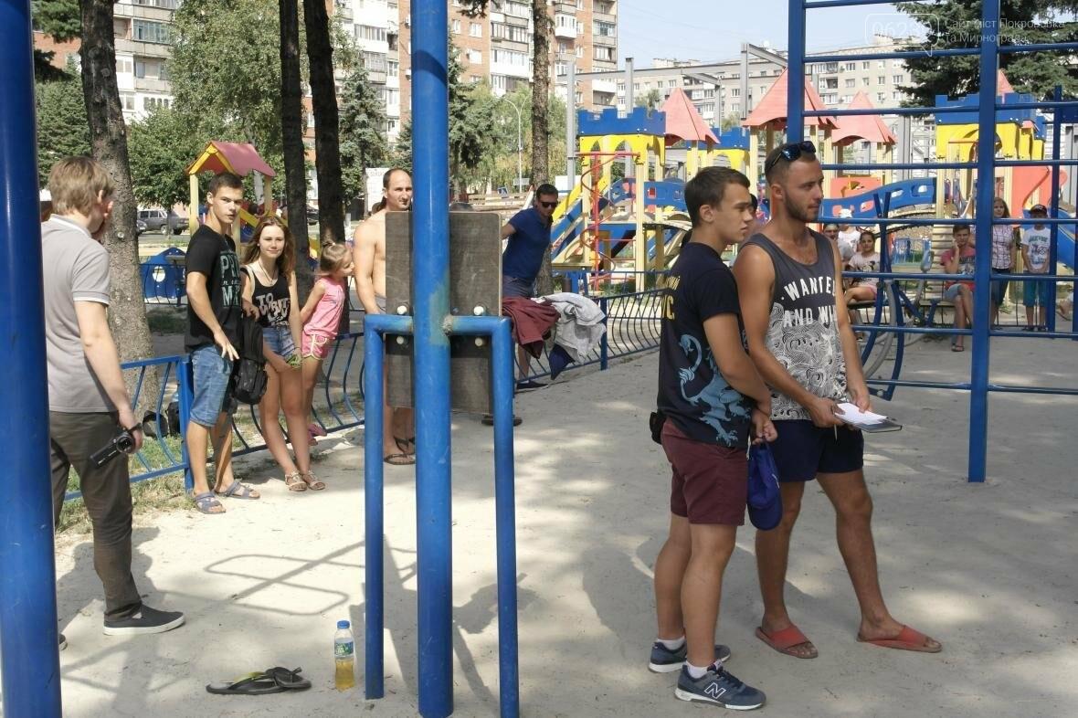 В Покровске прошли соревнования по Street Workout , фото-11