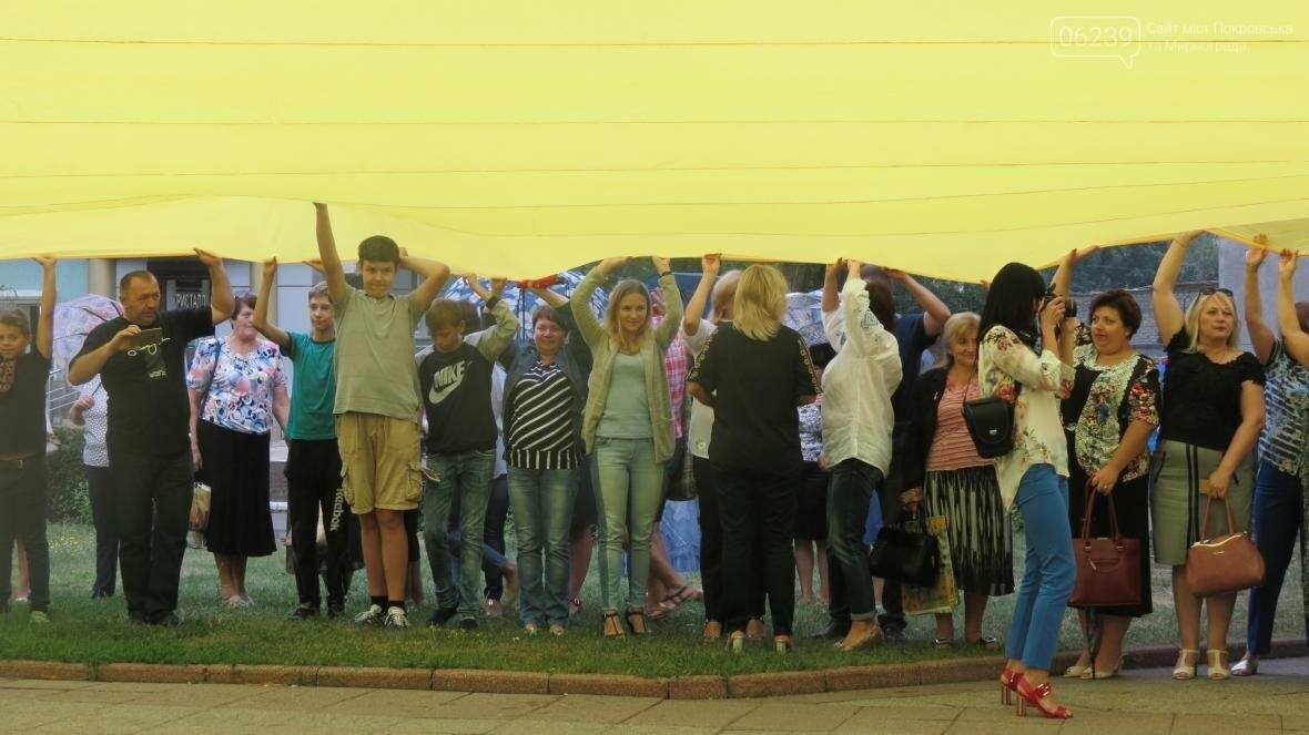 В Покровске отпраздновали День Государственного флага, фото-13