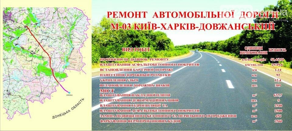 У Донецькій області капітально відремонтують ділянку дороги, яка з'єднує Слов'янськ та Ізюм, - Жебрівський, фото-2