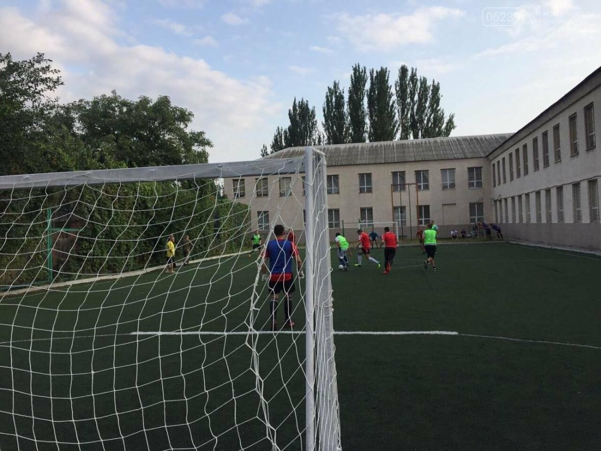В Покровске состоялось первенство по футболу: госслужащие сразились с силовиками, фото-1