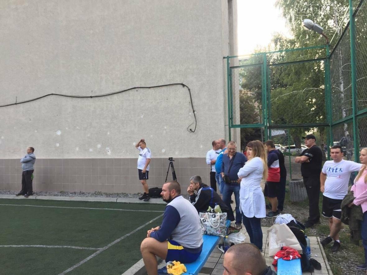 В Покровске состоялось первенство по футболу: госслужащие сразились с силовиками, фото-2