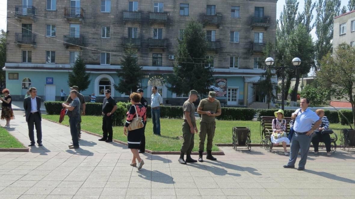 В Покровске развернули самый большой в мире флаг Украины, фото-3