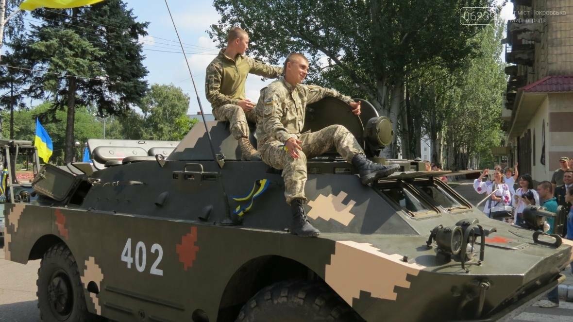 В Покровске стартовал патриотичный автопробег ко Дню независимости Украины, фото-5