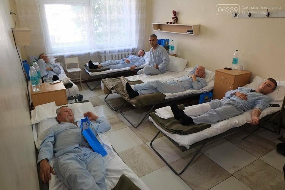 В Покровске Павел Жебривский посетил военный мобильный госпиталь, фото-3