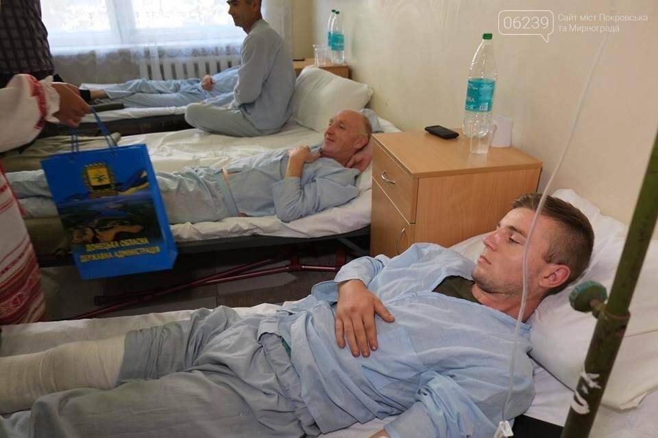 В Покровске Павел Жебривский посетил военный мобильный госпиталь, фото-1
