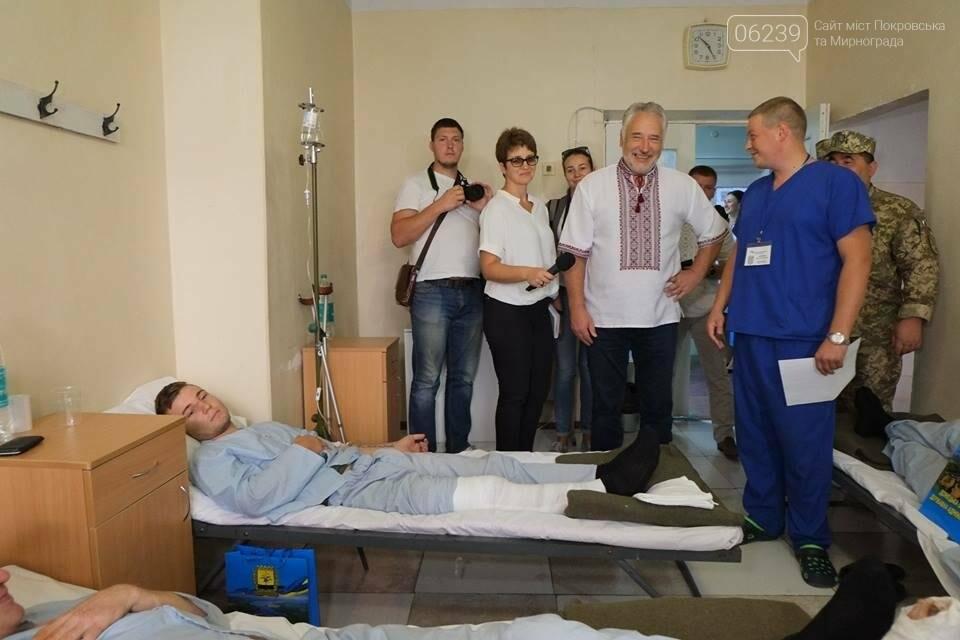 В Покровске Павел Жебривский посетил военный мобильный госпиталь, фото-2