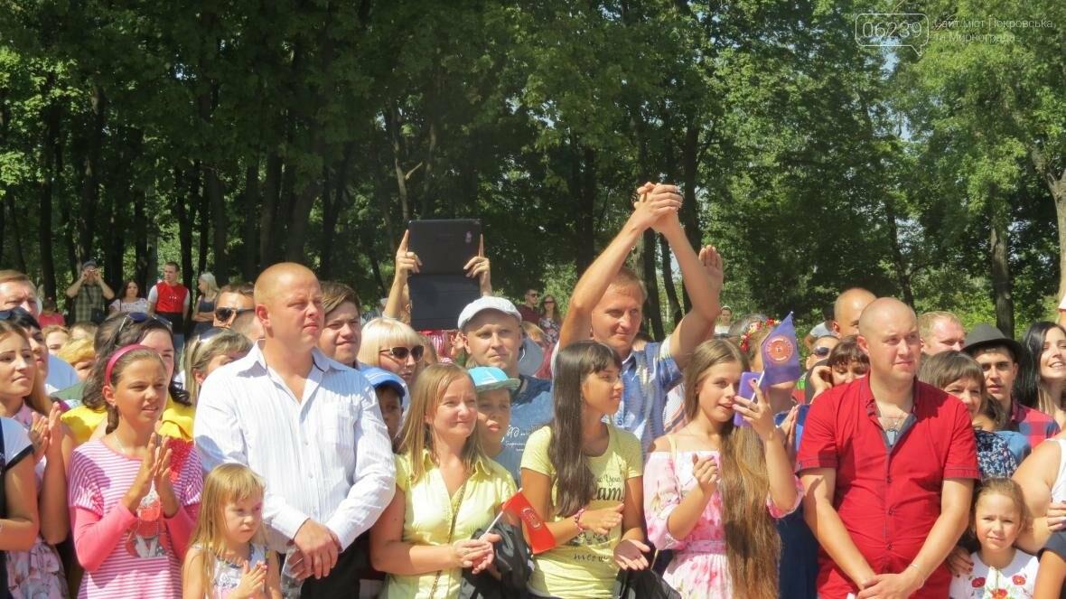Две передачи отсняла съемочная группа «Караоке на майдане» в Покровске в День шахтера, фото-22