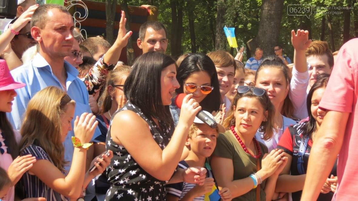 Две передачи отсняла съемочная группа «Караоке на майдане» в Покровске в День шахтера, фото-3
