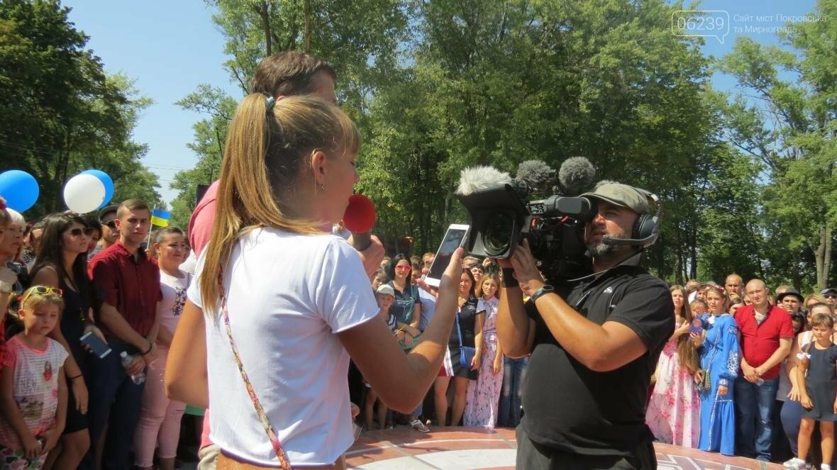 Две передачи отсняла съемочная группа «Караоке на майдане» в Покровске в День шахтера, фото-9