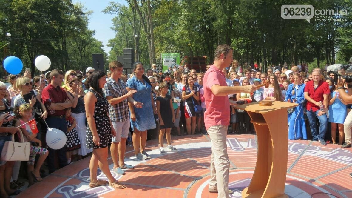Две передачи отсняла съемочная группа «Караоке на майдане» в Покровске в День шахтера, фото-10