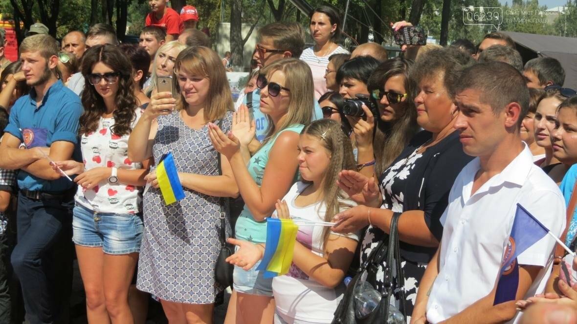 Две передачи отсняла съемочная группа «Караоке на майдане» в Покровске в День шахтера, фото-8