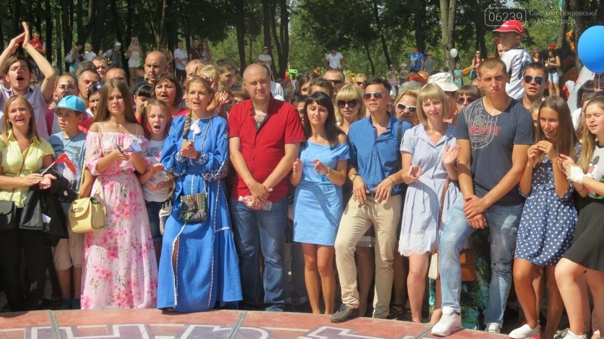Две передачи отсняла съемочная группа «Караоке на майдане» в Покровске в День шахтера, фото-13