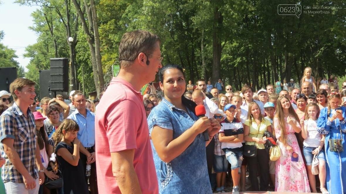 Две передачи отсняла съемочная группа «Караоке на майдане» в Покровске в День шахтера, фото-4
