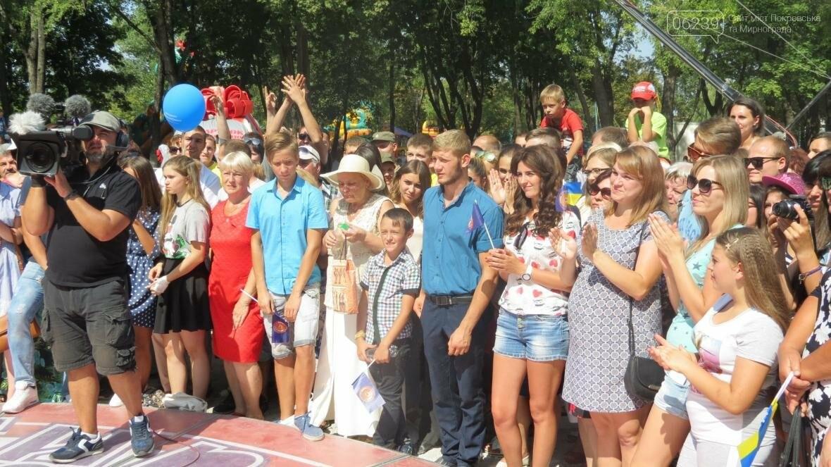 Две передачи отсняла съемочная группа «Караоке на майдане» в Покровске в День шахтера, фото-12