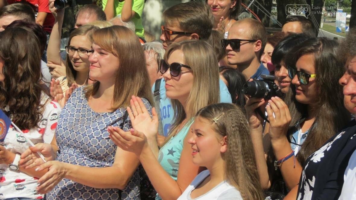 Две передачи отсняла съемочная группа «Караоке на майдане» в Покровске в День шахтера, фото-6