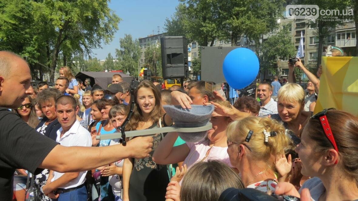 Две передачи отсняла съемочная группа «Караоке на майдане» в Покровске в День шахтера, фото-7