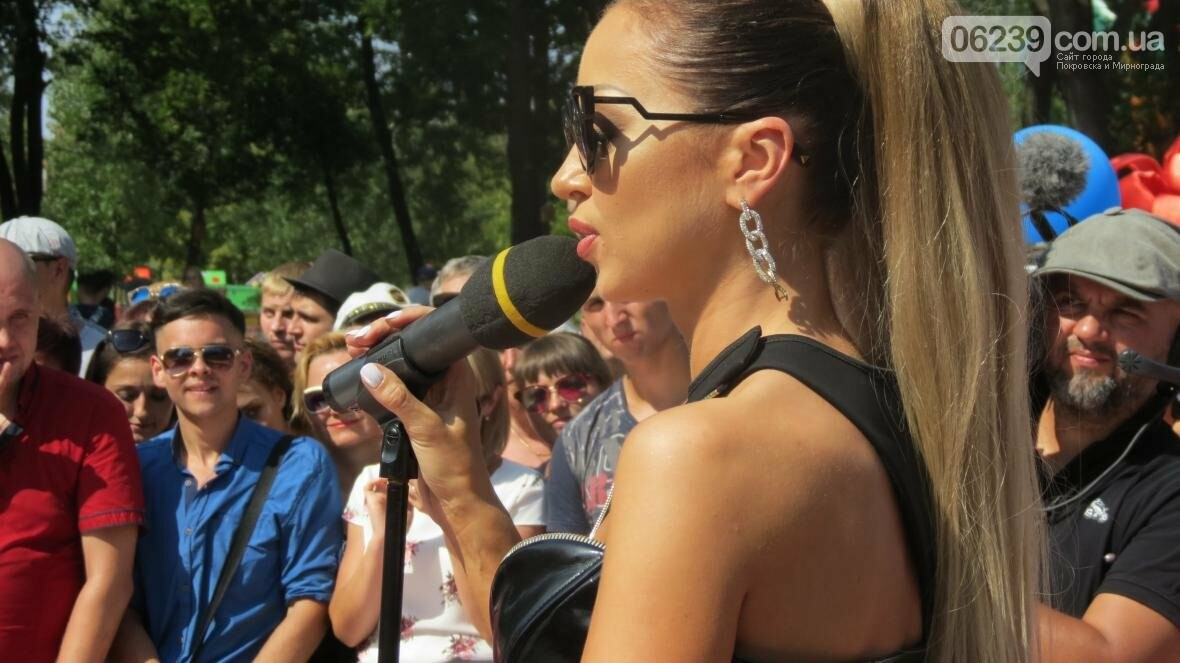 Две передачи отсняла съемочная группа «Караоке на майдане» в Покровске в День шахтера, фото-17
