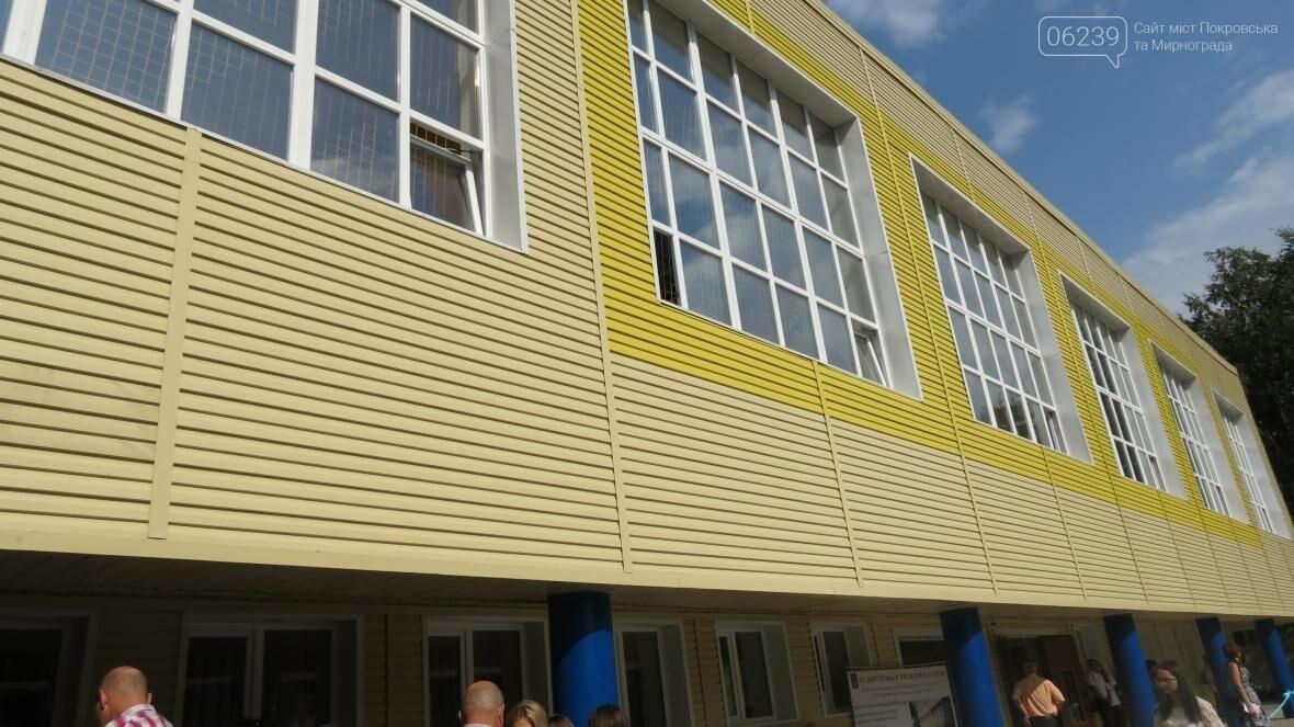 В Покровске при участии Президента Украины Петра Порошенко открыли опорную школу, фото-4