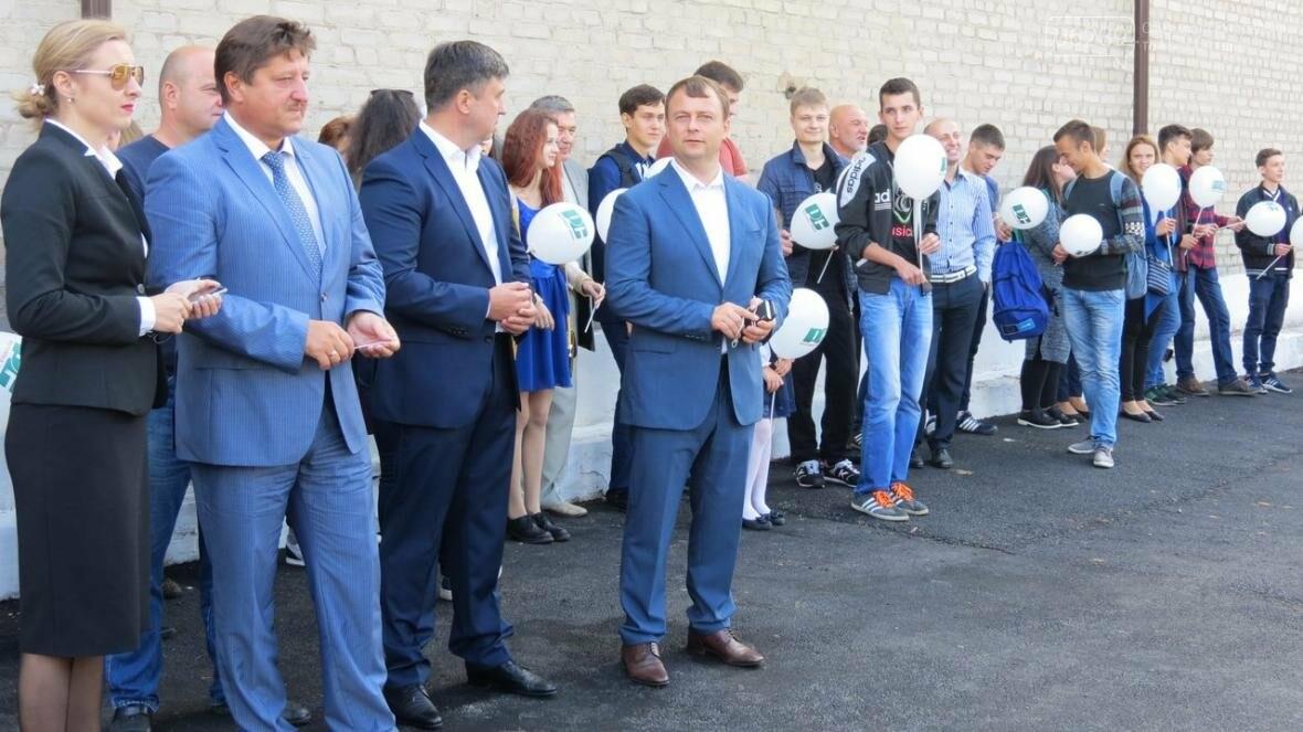 В Покровске в ДонНТУ торжественно открыли новую спортивную площадку , фото-3