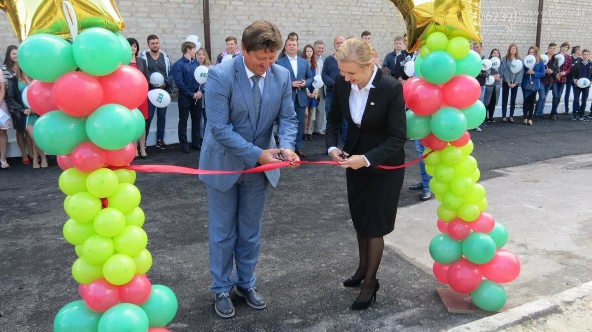 В Покровске в ДонНТУ торжественно открыли новую спортивную площадку , фото-1