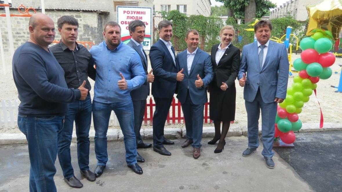 В Покровске в ДонНТУ торжественно открыли новую спортивную площадку , фото-2