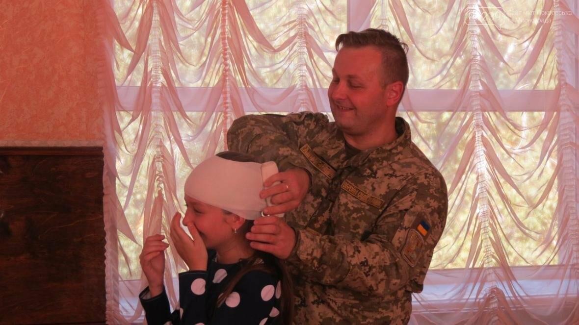 В Покровске военные медики провели интересную лекцию для школьников, фото-1