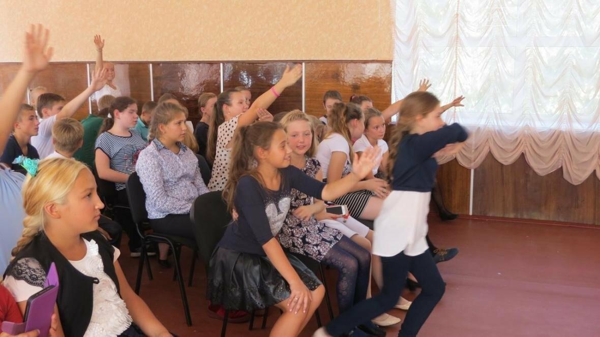 В Покровске военные медики провели интересную лекцию для школьников, фото-5