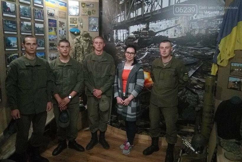 Харьковские гвардейцы посетили исторический музей Покровска, фото-2