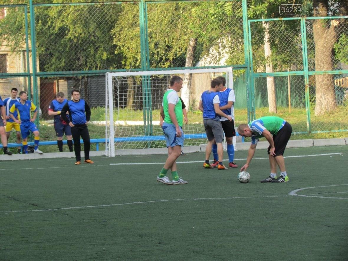 Продолжается покровский турнир по футболу «Лига силовиков», фото-4