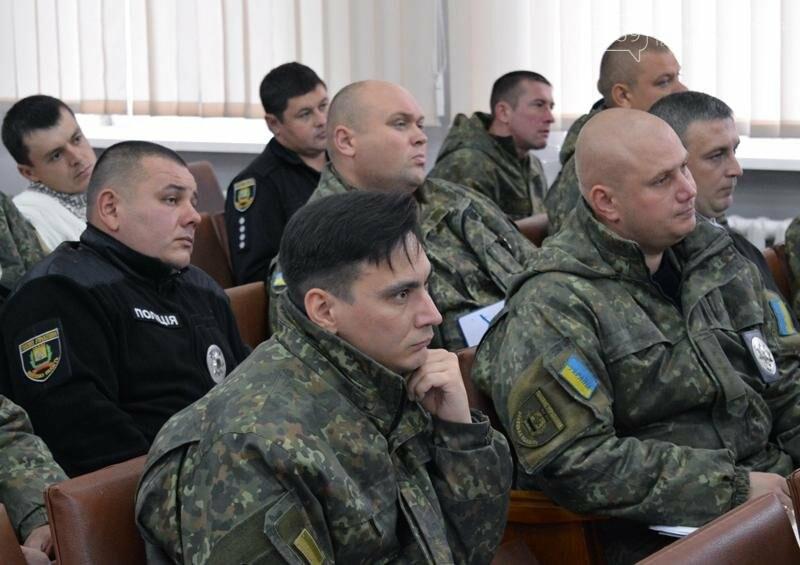 В Покровске состоялось рабочее совещание сотрудников, входящих в группы реагирования патрульной полиции, фото-4