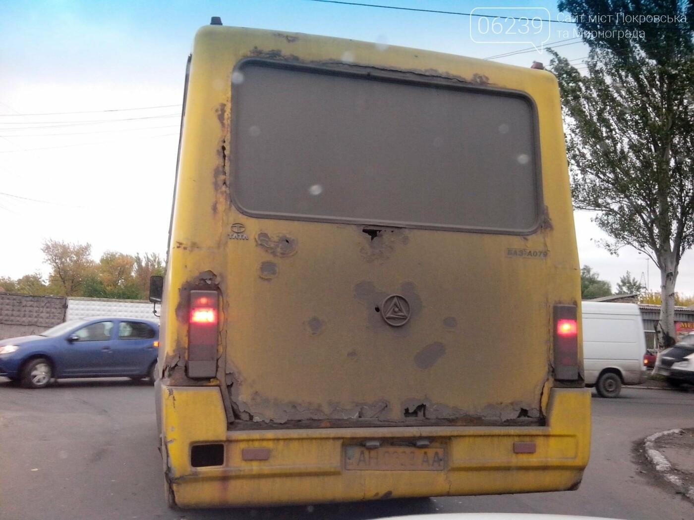 Безопасны ли автобусы на городских маршрутах Покровска? (ФОТО), фото-6