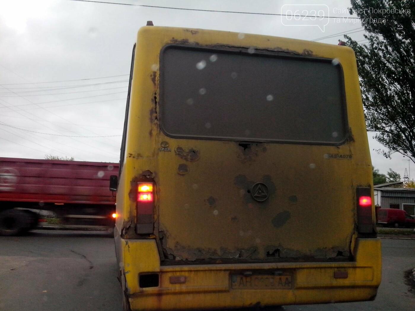Безопасны ли автобусы на городских маршрутах Покровска? (ФОТО), фото-5
