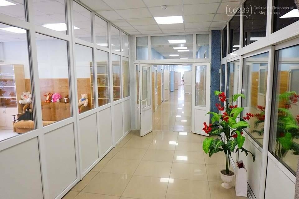 В Покровске открыли отремонтированный центр для детей-сирот и детей, лишенных родительской опеки, фото-10