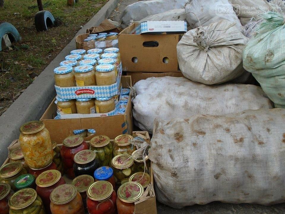 В Покровске семьи погибших участников АТО получили картофель и консервацию, фото-3