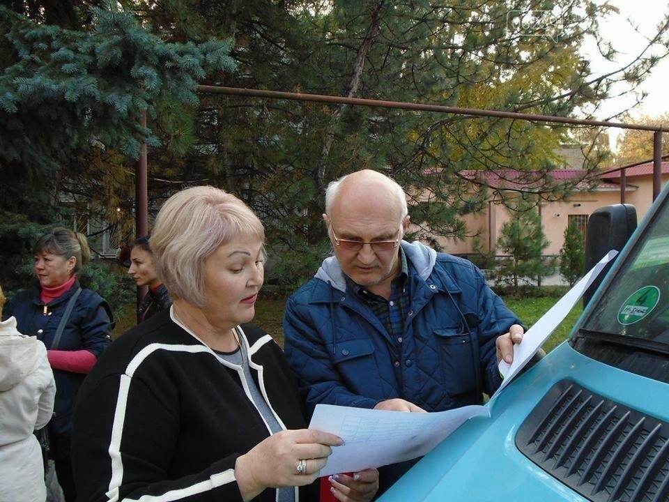 В Покровске семьи погибших участников АТО получили картофель и консервацию, фото-1