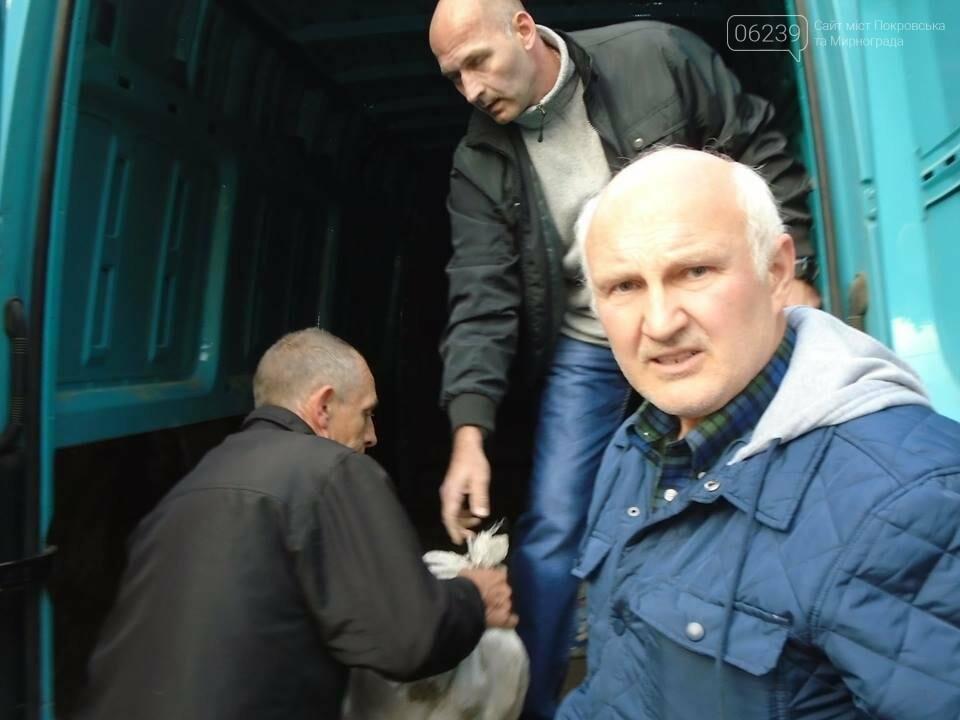 В Покровске семьи погибших участников АТО получили картофель и консервацию, фото-6