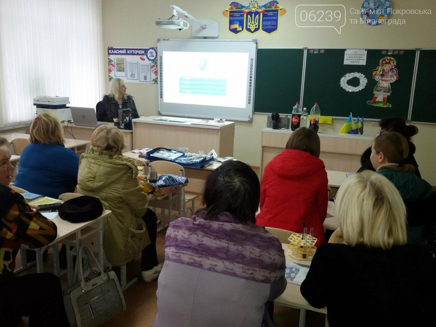 В Покровской опорной школе №9 прошел семинар-практикум по здоровьесбережению, фото-5