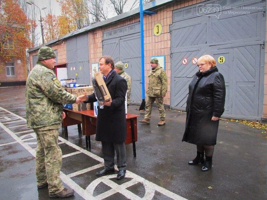 В Покровске военкомат получил 6 комплектов современной компьютерной техники, фото-2