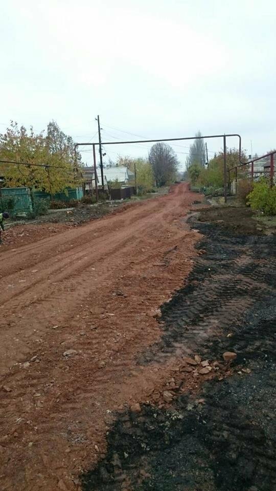 В Мирнограде начаты работы по отсыпке улицы Чичерина, фото-3